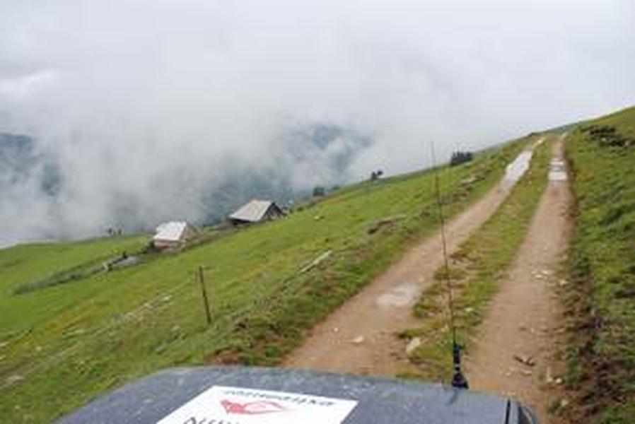 górskie szlaki 4x4
