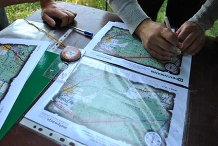 Orientowanie mapy