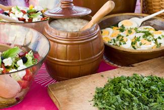 stoły wiejskie