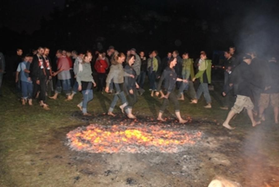 chodzenie po ogniach