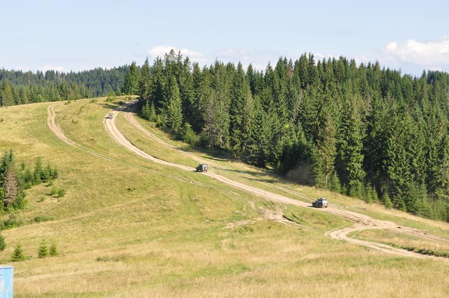 ukraiński szlak offroad