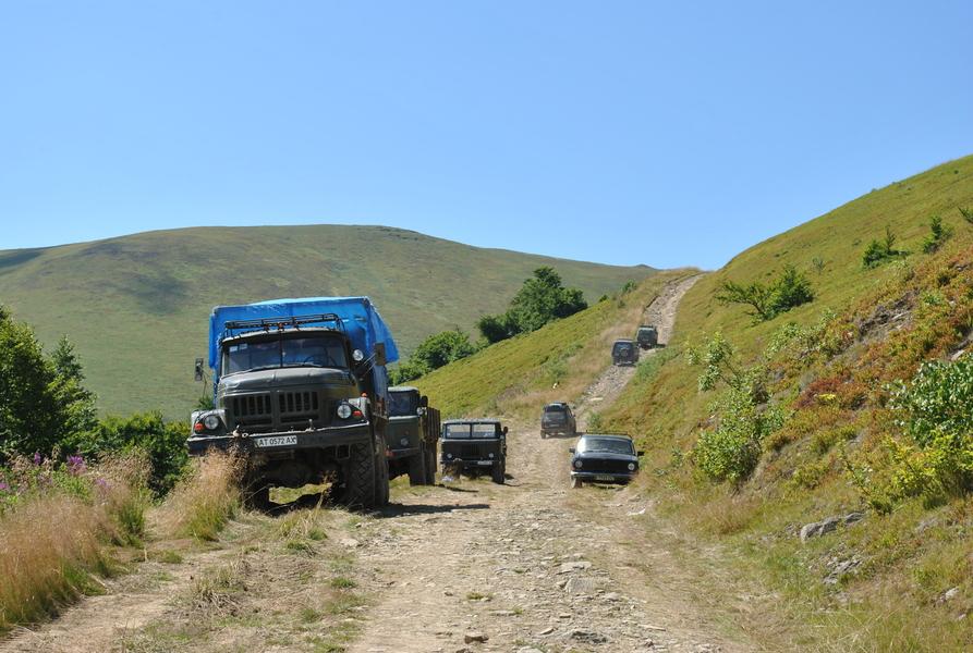 ukraiński offroad